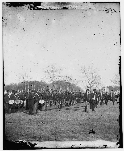 The 50th Pennsylvania Infantry at Beaufort, South Carolina. 1862 (LOC)