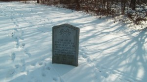 Marker for General Samuel Garland, killed at South Mountain