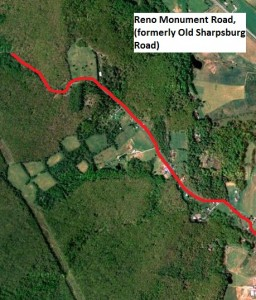 The Old Sharpsburg Road today