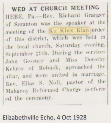 civil war blog couple married at ku klux klan meeting in hebe this post is a continuation of the reporting on hate groups that were active in the lykens valley area in the years following the civil war